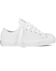 CHUCK TAYLOR ALL STAR  - Low, Color WHITE MONOCHROME, Color code 100, Material Canvas, Reference 316828C