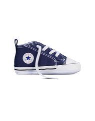 CHUCK TAYLOR FIRST STAR  - High, Color NAVY, Color code 410, Material Canvas, Reference 88865
