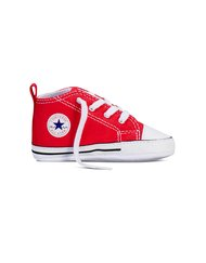 CHUCK TAYLOR FIRST STAR  - High, Color RED, Color code 600, Material Canvas, Reference 88875
