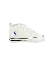 CHUCK TAYLOR FIRST STAR  - High, Color WHITE, Color code 100, Material Canvas, Reference 88877