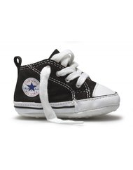 CHUCK TAYLOR FIRST STAR  - High, Color BLACK, Color code 007, Material Canvas, Reference 8J231